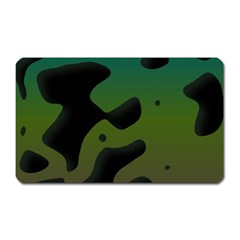 Black Spots On A Gradient Background                                                                                                  magnet (rectangular) by LalyLauraFLM