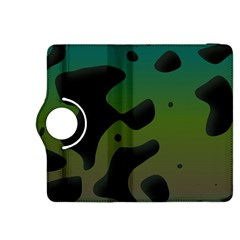 Black spots on a gradient background                                                                                                 			Kindle Fire HDX 8.9  Flip 360 Case by LalyLauraFLM