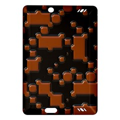 Brown Pieces                                                                                                 kindle Fire Hd (2013) Hardshell Case by LalyLauraFLM