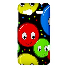 Smiley faces pattern HTC Radar Hardshell Case  by Valentinaart