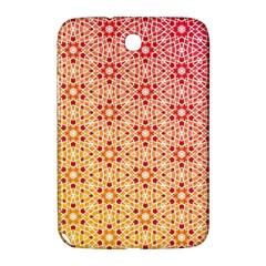 Orange Ombre Mosaic Pattern Samsung Galaxy Note 8 0 N5100 Hardshell Case  by TanyaDraws