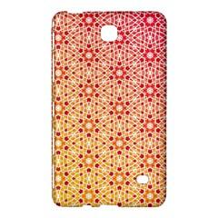 Orange Ombre Mosaic Pattern Samsung Galaxy Tab 4 (7 ) Hardshell Case  by TanyaDraws