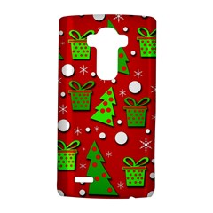 Christmas trees and gifts pattern LG G4 Hardshell Case by Valentinaart