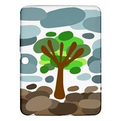 Tree Samsung Galaxy Tab 3 (10 1 ) P5200 Hardshell Case  by Valentinaart