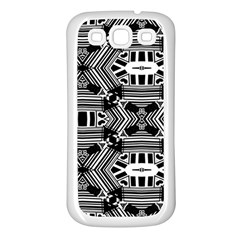 Cyber Celect Samsung Galaxy S3 Back Case (white) by MRTACPANS