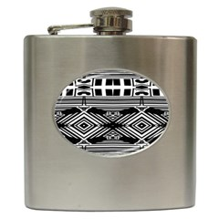 Si Ber Linx Hip Flask (6 Oz) by MRTACPANS