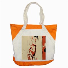 39 Sexy Conte Sketch Girl In Room Naked Boobs Nipples Pussy Accent Tote Bag by PeterReiss
