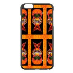 SUGER BUNNY Apple iPhone 6 Plus/6S Plus Black Enamel Case by MRTACPANS
