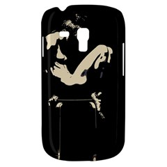 22 Sexy Conte Sketch Girl In Dark Room Naked Boobs Ass Butt Samsung Galaxy S3 Mini I8190 Hardshell Case by PeterReiss