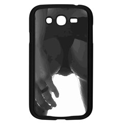 9 Bondage Oil Paint Girl Standing In Shadows Ass Butt Samsung Galaxy Grand Duos I9082 Case (black) by PeterReiss