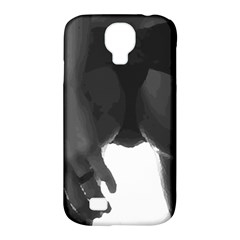 9 Bondage Oil Paint Girl Standing In Shadows Ass Butt Samsung Galaxy S4 Classic Hardshell Case (pc+silicone) by PeterReiss
