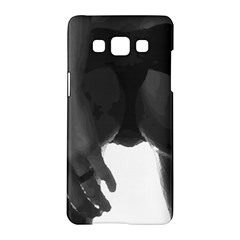 9 Bondage Oil Paint Girl Standing In Shadows Ass Butt Samsung Galaxy A5 Hardshell Case  by PeterReiss