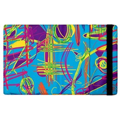Colorful Abstract Pattern Apple Ipad 3/4 Flip Case by Valentinaart