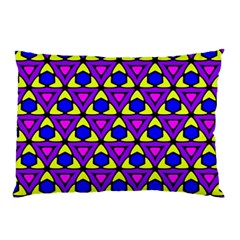Triangles And Honeycombs Pattern                                                                                                   pillow Case by LalyLauraFLM
