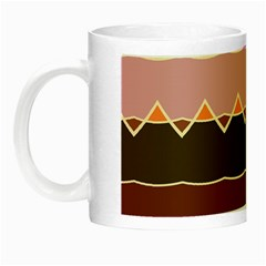 Waves And Other Shapes                                                                                                    Night Luminous Mug by LalyLauraFLM