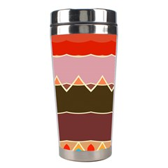 Waves And Other Shapes                                                                                                    Stainless Steel Travel Tumbler by LalyLauraFLM