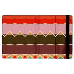Waves And Other Shapes                                                                                                   			apple Ipad 2 Flip Case by LalyLauraFLM