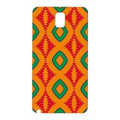 Rhombus And Other Shapes Pattern                                                                                                    samsung Galaxy Note 3 N9005 Hardshell Back Case by LalyLauraFLM