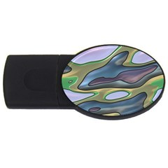 3d Shapes                                                                                                      			usb Flash Drive Oval (2 Gb) by LalyLauraFLM
