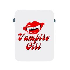 Vampire Girl Apple Ipad Protective Sleeve by igorsin