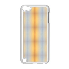 Blue Yellow Summer Pattern Apple Ipod Touch 5 Case (white) by Costasonlineshop
