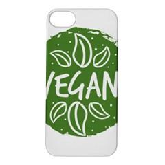 Vegan Label3 Scuro Apple Iphone 5s/ Se Hardshell Case by CitronellaDesign
