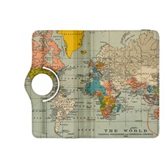 Vintage World Map Kindle Fire HDX 8.9  Flip 360 Case by Zeze