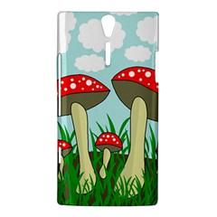 Mushrooms  Sony Xperia S