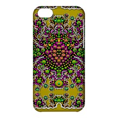 Fantasy Flower Peacock With Some Soul In Popart Apple Iphone 5c Hardshell Case by pepitasart