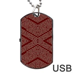 Gggfgdfgn Dog Tag Usb Flash (two Sides)  by MRTACPANS