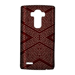Gggfgdfgn Lg G4 Hardshell Case by MRTACPANS