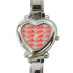 Element Of The Flower Of Life   Pattern Heart Italian Charm Watch by Contest2489503