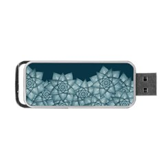 Flower Star Portable Usb Flash (two Sides) by Contest2489503