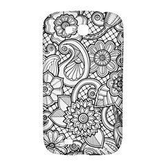 These Flowers Need Colour! Samsung Galaxy Grand GT-I9128 Hardshell Case  by Zeze
