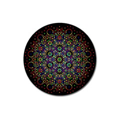 The Flower Of Life Magnet 3  (Round) by Zeze