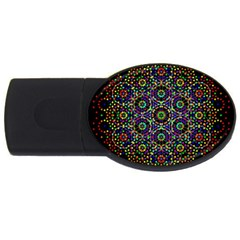 The Flower Of Life USB Flash Drive Oval (4 GB)  by Zeze
