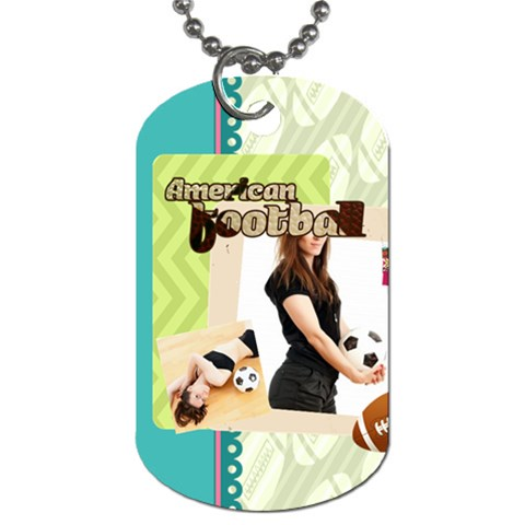 Sport By Sport   Dog Tag (one Side)   Slbi996gktoo   Www Artscow Com Front
