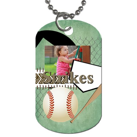 Sport By Sport   Dog Tag (one Side)   A90tgjywnwq1   Www Artscow Com Front