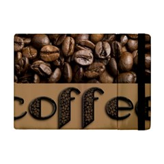 Funny Coffee Beans Brown Typography Ipad Mini 2 Flip Cases by yoursparklingshop