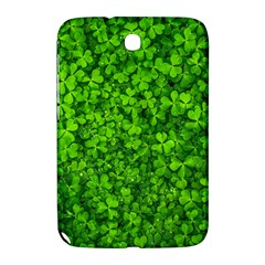 Shamrock Clovers Green Irish St  Patrick Ireland Good Luck Symbol 8000 Sv Samsung Galaxy Note 8 0 N5100 Hardshell Case  by yoursparklingshop