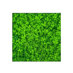 Shamrock Clovers Green Irish St  Patrick Ireland Good Luck Symbol 8000 Sv Satin Bandana Scarf by yoursparklingshop