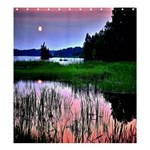Sunset Matching Set SHOWER CURTAIN - Shower Curtain 66  x 72  (Large)