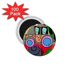 Tractor 1 75  Magnets (100 Pack)  by Valentinaart