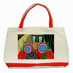 Tractor Classic Tote Bag (Red)