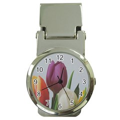 Tulips Money Clip Watches by picsaspassion