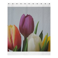 Tulips Shower Curtain 60  X 72  (medium)  by picsaspassion