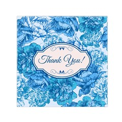 Thank You Small Satin Scarf (Square) by Zeze