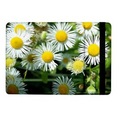 White Summer Flowers Oil Painting Art Samsung Galaxy Tab Pro 10 1  Flip Case by picsaspassion