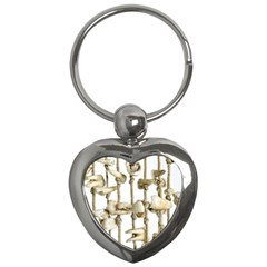 Hanging Human Teeth Dentist Funny Dream Catcher Dental Key Chains (heart)  by yoursparklingshop