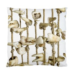 Hanging Human Teeth Dentist Funny Dream Catcher Dental Standard Cushion Case (two Sides) by yoursparklingshop